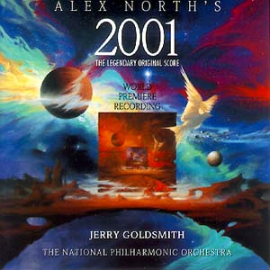 2001: Alex North Score original soundtrack