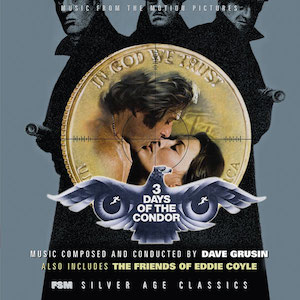 3 Days of the Condor + The Friends of Eddie Coyle original soundtrack