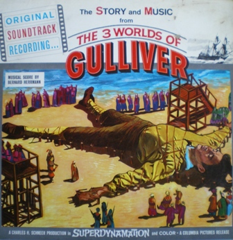 3 Worlds of Gulliver original soundtrack