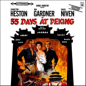 55 Days at Peking original soundtrack