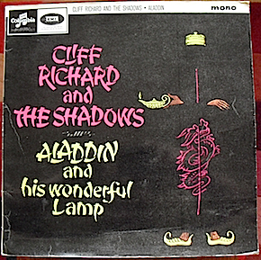 Aladdin & his Wonderful Lamp: Cliff & the Shadows original soundtrack
