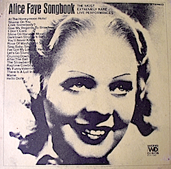 Alice Faye Songbook original soundtrack