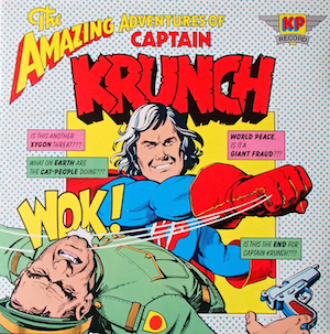 Amazing Adventures Of Captain Krunch original soundtrack