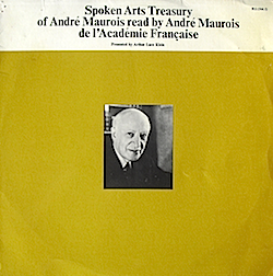 Andre Maurois read by Andre Maurois Vol.1 original soundtrack