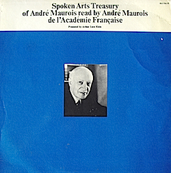 Andre Maurois read by Andre Maurois Vol.2 original soundtrack