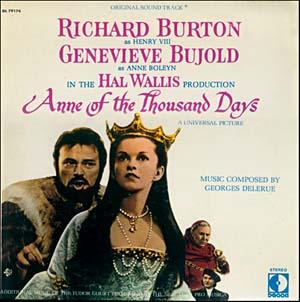 Anne of a Thousand Days original soundtrack