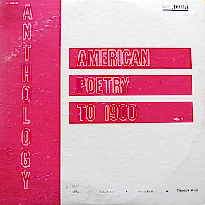 Anthology of American Poetry to 1900: Vol. 2. original soundtrack