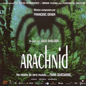 Arachnid original soundtrack