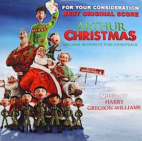 Arthur Christmas original soundtrack