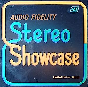 Audio Fidelity Stereo Showcase original soundtrack