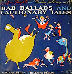 Bab Ballads and Cautionary Tales original soundtrack