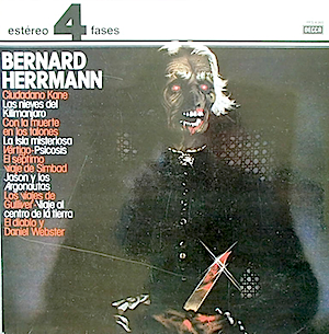 Bernard Herrmann original soundtrack