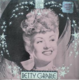Betty Grable: Silver Screen Stars original soundtrack