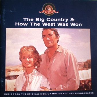 Big Country & How the West was Won original soundtrack