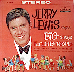 Big Songs for Little People: Jerry Lewis original soundtrack