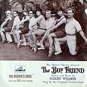 Boy Friend: Players' Theatre /London Cast original soundtrack