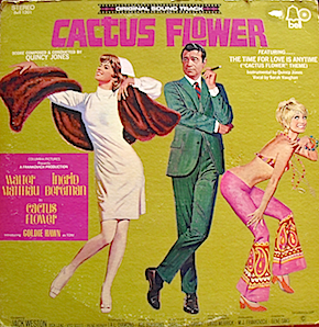 Cactus Flower original soundtrack