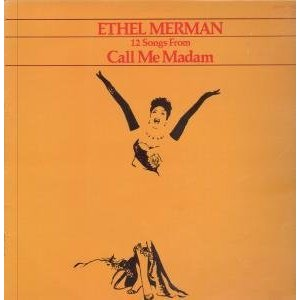 Call Me Madam original soundtrack