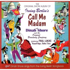 Call Me Madam:original broadway cast original soundtrack