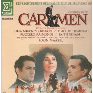 Carmen: francesco rosi OST original soundtrack