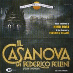 Casanova di Federico Fellini original soundtrack