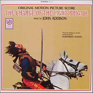 Charge of the Light Brigade original soundtrack