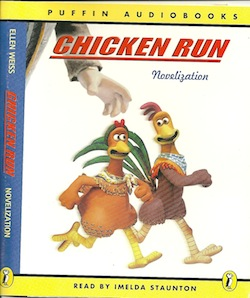 Chicken Run Novelisation original soundtrack