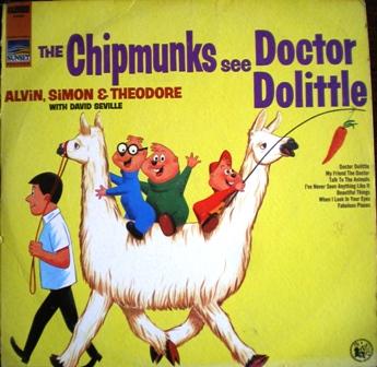 Chipmunks See Doctor Dolittle original soundtrack