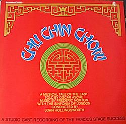 Chu Chin Chow: Studio Cast original soundtrack