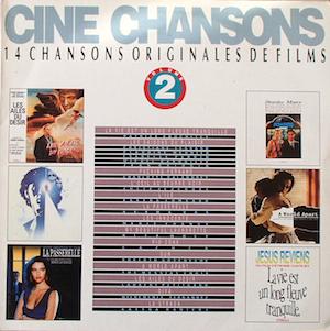 Cine Chansons 2 original soundtrack