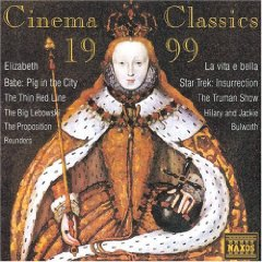 Cinema Classics 1999 original soundtrack