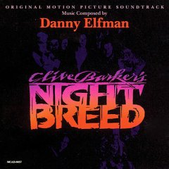 Clive Barker's Night Breed original soundtrack