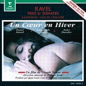 Coeur en Hiver original soundtrack