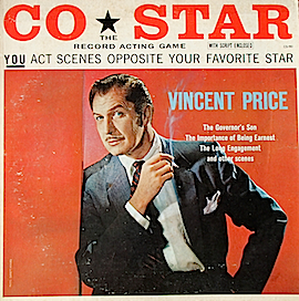 Co*Star: Vincent Price - The Record Acting Game - original soundtrack