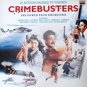 Crimebusters: 20 Action-packed TV Themes original soundtrack