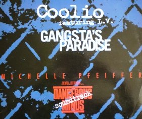 "Dangerous minds / gangsta's paradise 12"" original soundtrack"