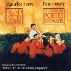Dead poets Society - Year of Living Dangerously original soundtrack