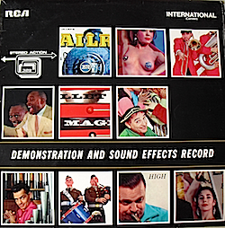 Demonstartion and Sound Effects Record original soundtrack