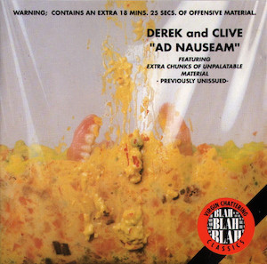 Derek & Clive: Ad Nauseam original soundtrack