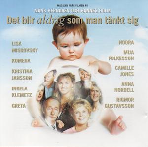 Det Blir Aldrig Som Man Tänkt Sig original soundtrack