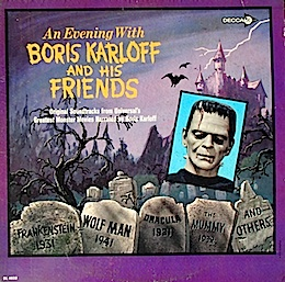 Evening With Boris Karloff and his Friends original soundtrack