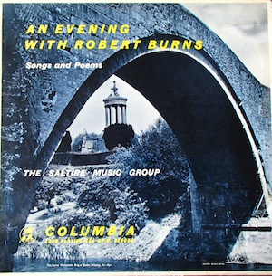 Evening with Robert Burns original soundtrack
