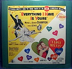 Everything I have is Yours + I love melvin original soundtrack