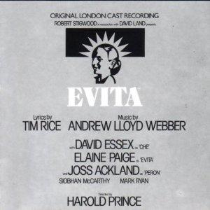 Evita: original london cast original soundtrack