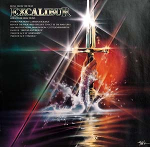Excalibur original soundtrack