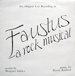 Faustus: A Rock Musical original soundtrack