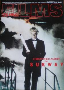 Films and Filming: Aug 85 original soundtrack
