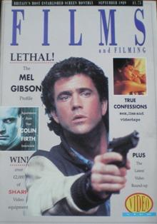 Films and Filming: Sept 89 original soundtrack