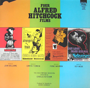 Four Alfred Hitchcock Films original soundtrack