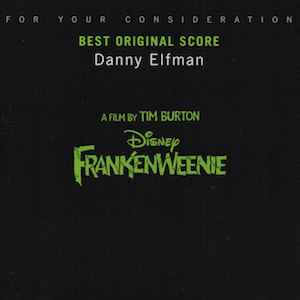 Frankenweenie original soundtrack